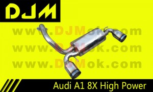 DJM Audi A1 8X High Power Exhaust