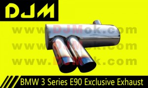 DJM BMW 3 Series E90 Exclusive Exhaust