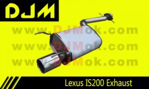 DJM Lexus IS200 Exhaust