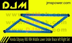DIM Honda Odyssey RB3 RB4 Middle Lower Under Brace left Right Set