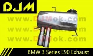 DJM BMW 3 Series E90 Exhaust