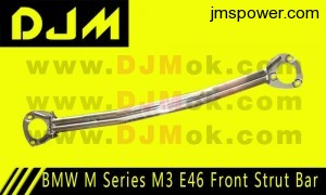 DJM BMW M Series M3 E46 Front Strut Bar