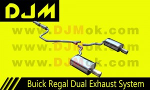 DJM Buick Regal Dual Exhaust System