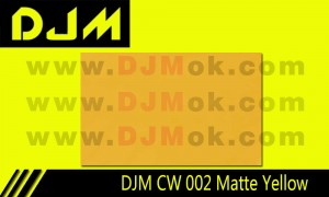 DJM CW 002 Matte Yellow
