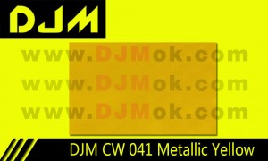 DJM CW 041 Metallic Yellow