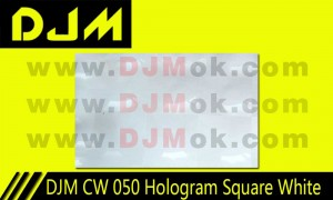 DJM CW 050 Hologram Square White