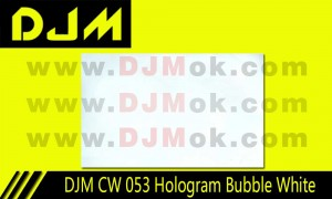 DJM CW 053 Hologram Bubble White