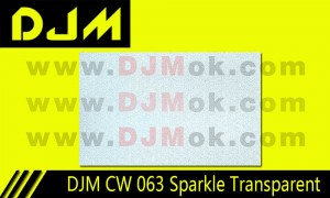 DJM CW 063 Sparkle Transparent
