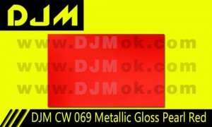 DJM CW 069 Metallic Gloss Pearl Red