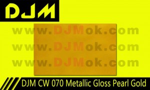DJM CW 070 Metallic Gloss Pearl Gold