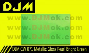 DJM CW 071 Metallic Gloss Pearl Bright Green