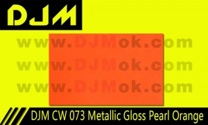 DJM CW 073 Metallic Gloss Pearl Orange
