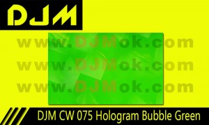 DJM CW 075 Hologram Bubble Green