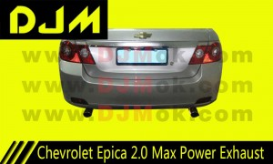 DJM Chevrolet Epica 2.0 Max Power Exhaust