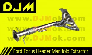 DJM Ford Focus High Performance Header Extractor Manifold