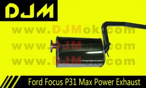 DJM Ford Focus P31 Max Power Exhaust