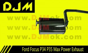 DJM Ford Focus P34 P35 Max Power Exhaust