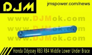 DJM Honda Odyssey RB3 RB4 Middle Lower Under Brace