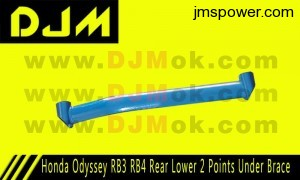 DJM Honda Odyssey RB3 RB4 Rear Lower 2 Points Under Brace