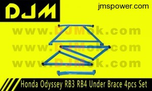 DJM Honda Odyssey RB3 RB4 Under Brace 4pcs Set