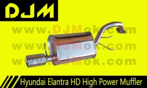 DJM Hyundai Elantra HD High Power Muffler