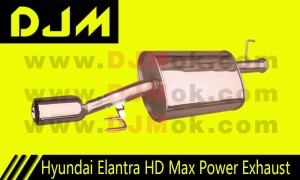 DJM Hyundai Elantra HD Max Power Exhaust