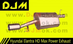 DJM Hyundai Elentra HD Max Power Exhaust
