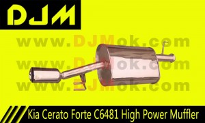 DJM Kia Forte C6481 High Power Muffler