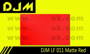 DJM LF 011 Matte Red Lamp Film