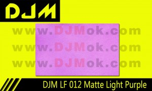 DJM LF 012 Matte Light Purple Lamp Film