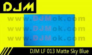 DJM LF 013 Matte Sky Blue Lamp Film