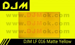 DJM LF 016 Matte Yellow Lamp Film
