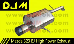 DJM Mazda 323 BJ High Power Exhaust