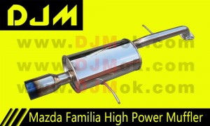 DJM Mazda Familia High Power Muffler