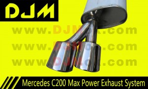 DJM Mercedes C200 Max Power Exhaust System