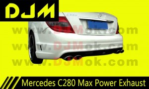 DJM Mercedes C280 Max Power Exhaust