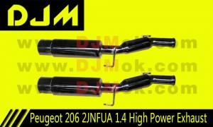 DJM Peugeot 206 2JNFUA 1.4 High Power Exhaust