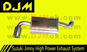 DJM Suzuki Jimny High Power Exhaust System