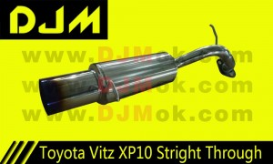 DJM Toyota Vitz XP10 Straight Through