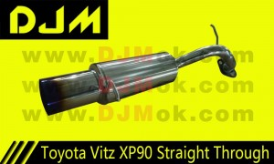 DJM Toyota Vitz XP90 Straight Through