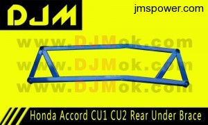 DJM Honda Accord CU1 CU2 Rear Under Brace