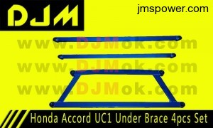DJM Honda Accord UC1 Under Brace 4pcs Set