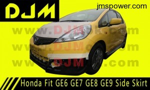 DJM Honda Fit GE6 GE7 GE8 GE9 Side Skirt