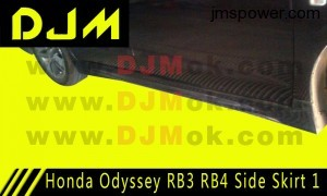 DJM Honda Odyssey RB3 RB4 Side Skirt 1