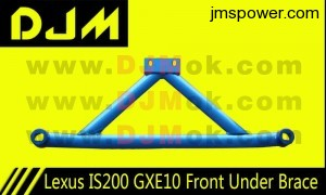 DJM Lexus IS200 GXE10 Front Under Brace