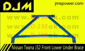 DJM Nissan Teana J32 Front Lower Under Brace