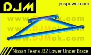 DJM Nissan Teana J32 Lower Under Brace