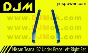 DJM Nissan Teana J32 Under Brace Left Right Set