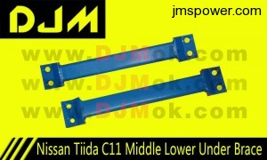 DJM Nissan Tiida C11 Moddle Lower Under Brace