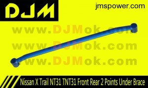 DJM Nissan X Trail NT31 TNT31 Front Rear 2 Points Under Brace
